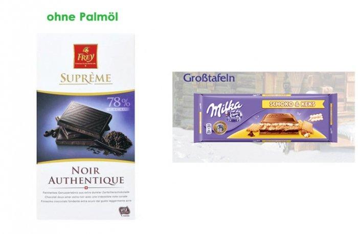 bild 5 produkte mit palm l und produkte ohne palm l schokolade. Black Bedroom Furniture Sets. Home Design Ideas